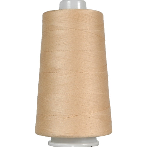 Heavy Duty Cotton Quilting Thread - Lt Beige- 2500 Meters - 40 Wt. - Threadart.com