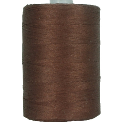 Cotton Quilting Thread - Chocolate Brown - 1000 Meters - 50 Wt. - Threadart.com