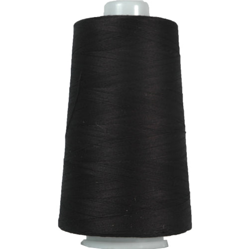Heavy Duty Cotton Quilting Thread - Black - 2500 Meters - 40 Wt. - Threadart.com