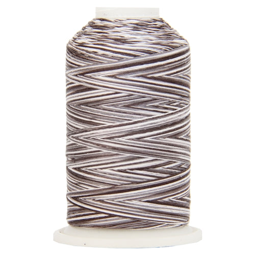 Multicolor Variegated Cotton Thread 600M - Stormy - Threadart.com