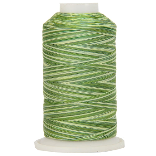 Multicolor Variegated Cotton Thread 600M - Summer Greens - Threadart.com