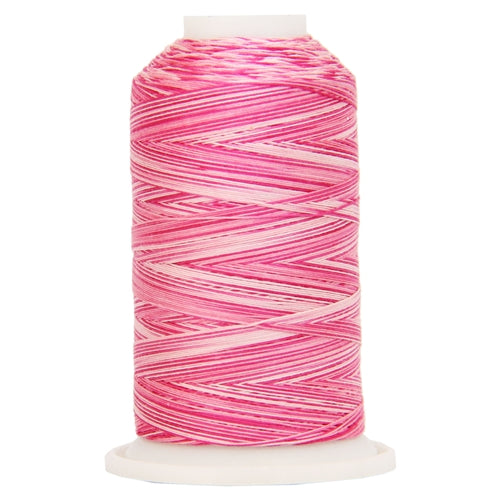 Multicolor Variegated Cotton Thread 600M - Roses - Threadart.com