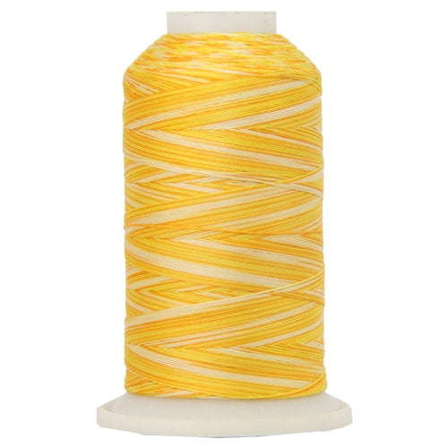 Multicolor Variegated Cotton Thread 600M - SunBurst - Threadart.com