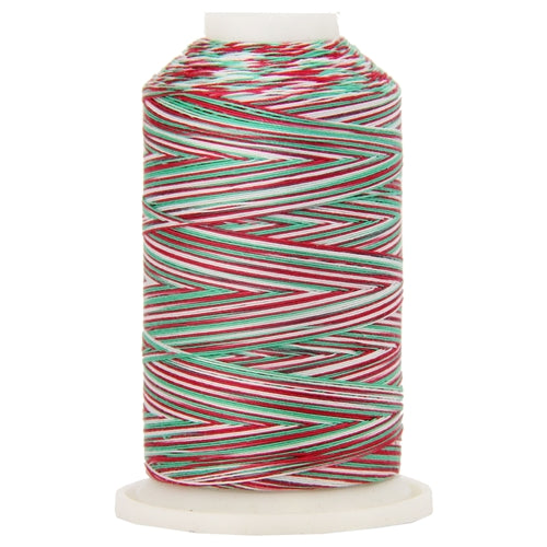 Variegated Cotton Thread 600M - Holiday - Threadart.com