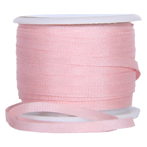 Silk Ribbon 2mm Lt Salmon x 10 Meters No. 537 - Threadart.com