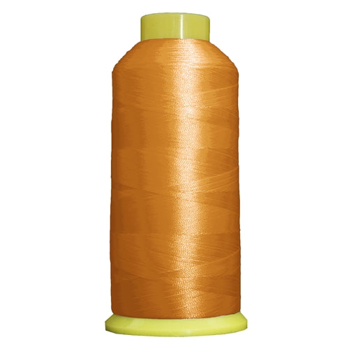 Large Polyester Embroidery Thread No. 125 - Spark Gold- 5000 M - Threadart.com