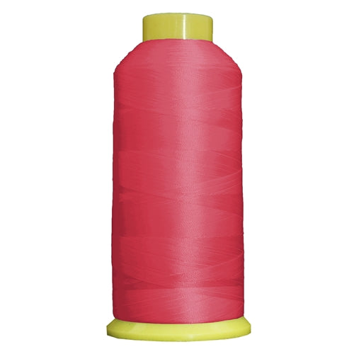 Large Polyester Embroidery Thread No. 132 - Berry Pink- 5000 M - Threadart.com