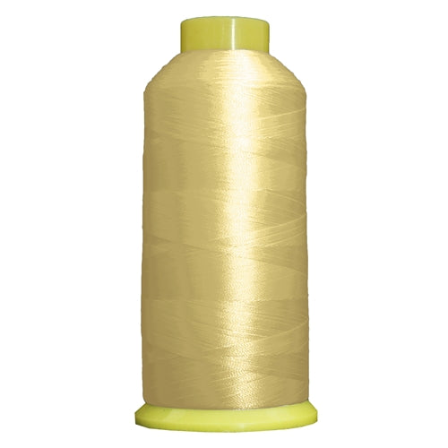 Large Polyester Embroidery Thread No. 151 - Pale Yellow - 5000 M - Threadart.com