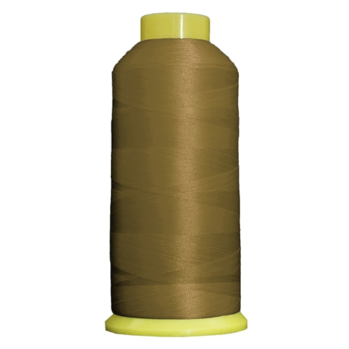 Large Polyester Embroidery Thread No. 175 - Autumn Green - 5000 M - Threadart.com