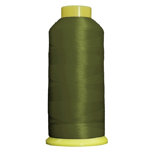 Large Polyester Embroidery Thread No. 180 - Sage Green - 5000 M - Threadart.com