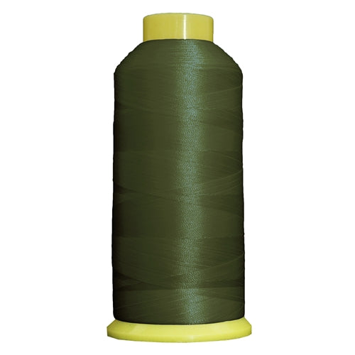 Large Polyester Embroidery Thread No. 181 - Palm Green - 5000 M - Threadart.com