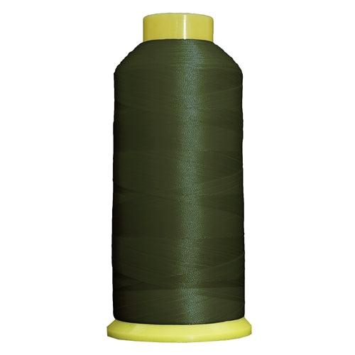Large Polyester Embroidery Thread No. 182 - Dk Sage Green - 5000 M - Threadart.com