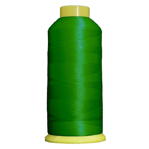 Large Polyester Embroidery Thread No. 204 - Emerald - 5000 M - Threadart.com