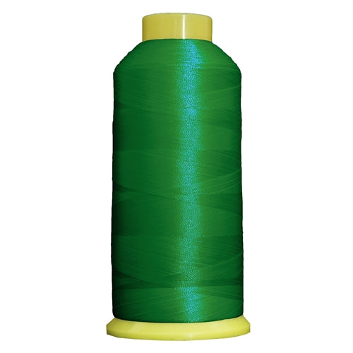 Large Polyester Embroidery Thread No. 217 - Green- 5000 M - Threadart.com
