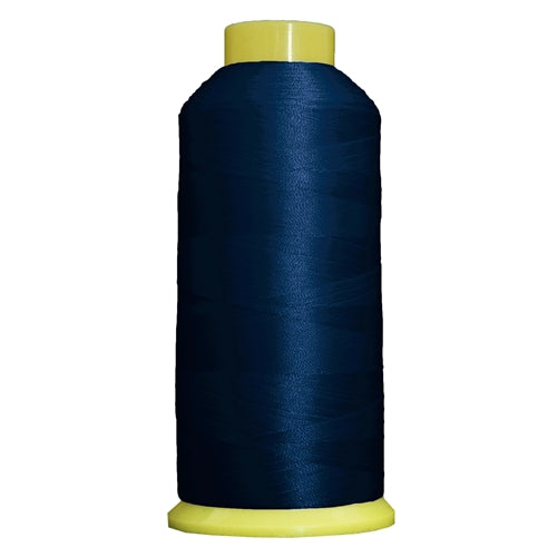 Large Polyester Embroidery Thread No. 231 - Bright Navy- 5000 M - Threadart.com