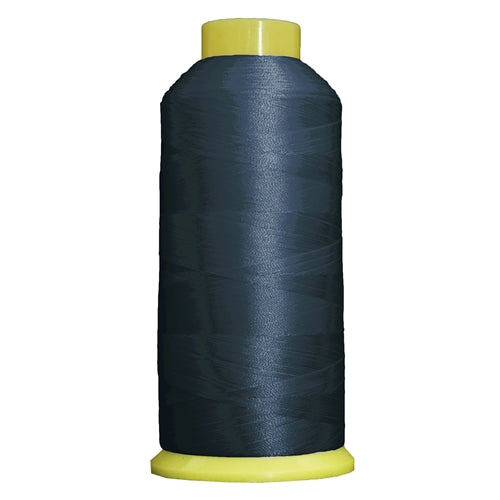Large Polyester Embroidery Thread No. 244 - Ocean Blue- 5000 M - Threadart.com