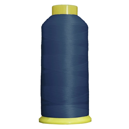 Large Polyester Embroidery Thread No. 246 - Country Blue- 5000 M - Threadart.com