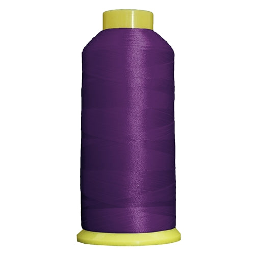 Large Polyester Embroidery Thread No. 267 - Dk Purple -5000 M - Threadart.com