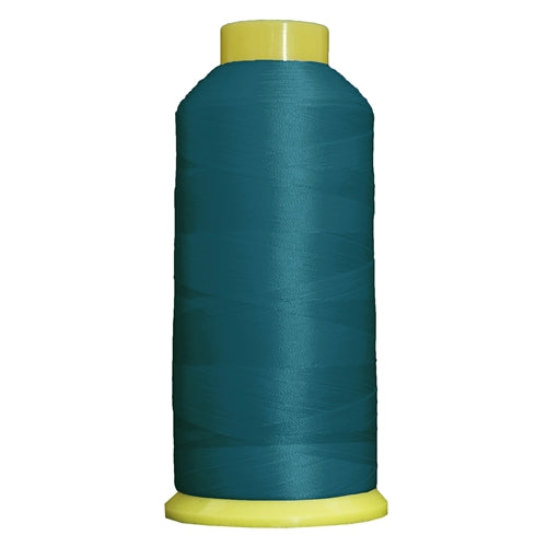 Large Polyester Embroidery Thread No. 275 - Bright Turquoise-5000 M - Threadart.com