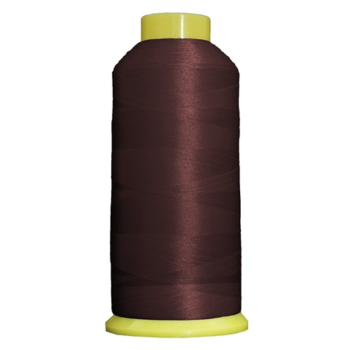 Large Polyester Embroidery Thread No. 296 - Md Burgundy-5000 M - Threadart.com