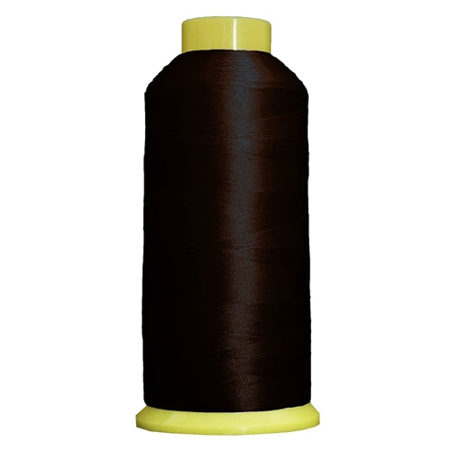 Large Polyester Embroidery Thread No. 300 - Mahogany-5000 M - Threadart.com