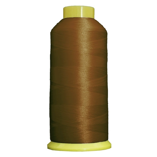 Large Polyester Embroidery Thread No. 312 - Lt Brown- 5000 M - Threadart.com