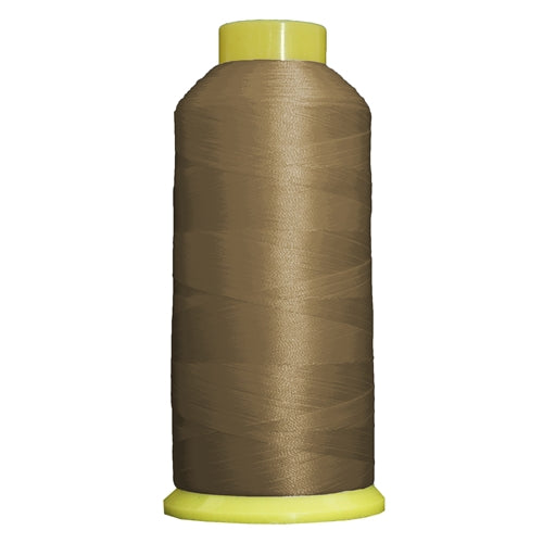 Large Polyester Embroidery Thread No. 335 - Earth Tan- 5000 M - Threadart.com