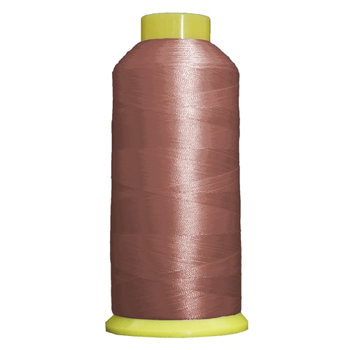 Large Polyester Embroidery Thread No. 481 - Dk Salmon- 5000 M - Threadart.com
