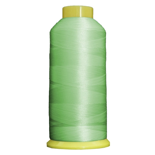 Large Polyester Embroidery Thread No. 353 - Lt Grass Green- 5000 M - Threadart.com