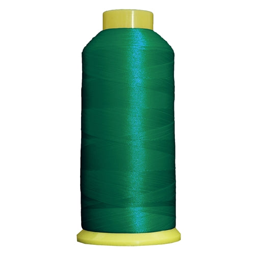 Large Polyester Embroidery Thread No. 355 - Teal- 5000 M - Threadart.com