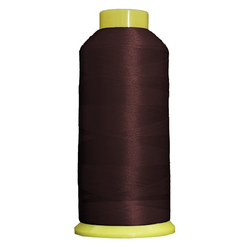 Large Polyester Embroidery Thread No. 390 - Intense Maroon- 5000 M - Threadart.com