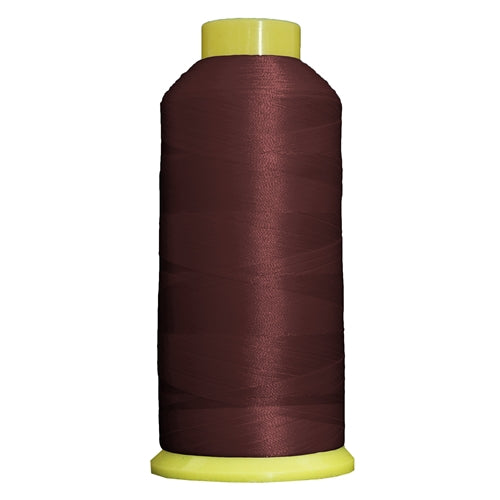 Large Polyester Embroidery Thread No. 396 - Burgundy- 5000 M - Threadart.com