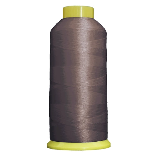 Large Polyester Embroidery Thread No. 398 - Grey Rod- 5000 M - Threadart.com