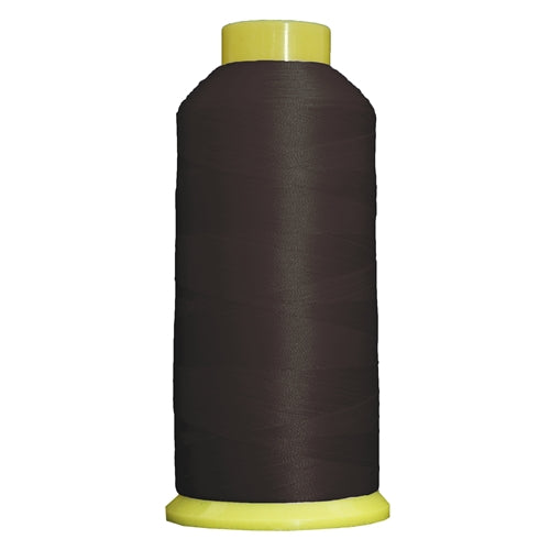 Large Polyester Embroidery Thread No. 399 - Expresso- 5000 M - Threadart.com