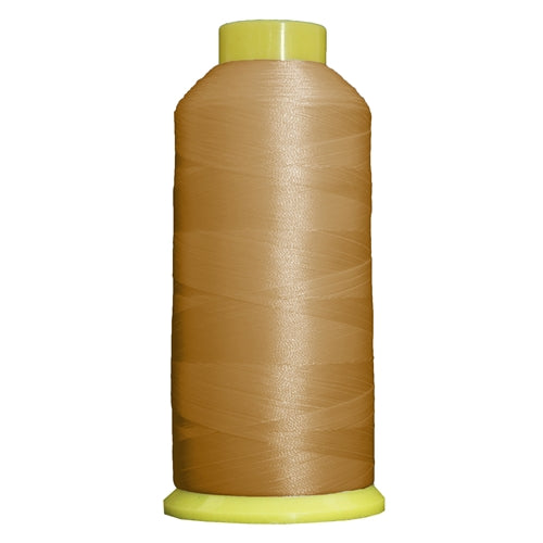 Large Polyester Embroidery Thread No. 407 - Rattan - 5000 M - Threadart.com