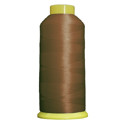 Large Polyester Embroidery Thread No. 408 - Med Tan- 5000 M - Threadart.com