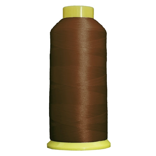 Large Polyester Embroidery Thread No. 422 - Brown-5000 M - Threadart.com