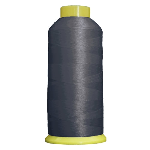 Large Polyester Embroidery Thread No. 430 - Steel Grey-5000 M - Threadart.com