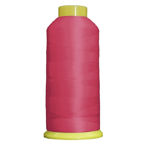 Large Polyester Embroidery Thread No. 674 - Hot Pink-5000 M - Threadart.com