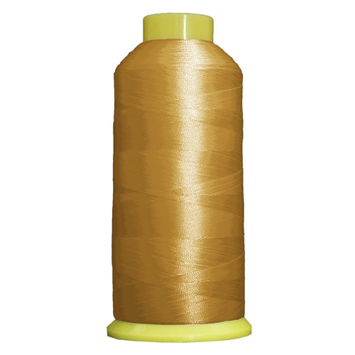 Large Polyester Embroidery Thread No. 123 -  Maize -5000 M - Threadart.com