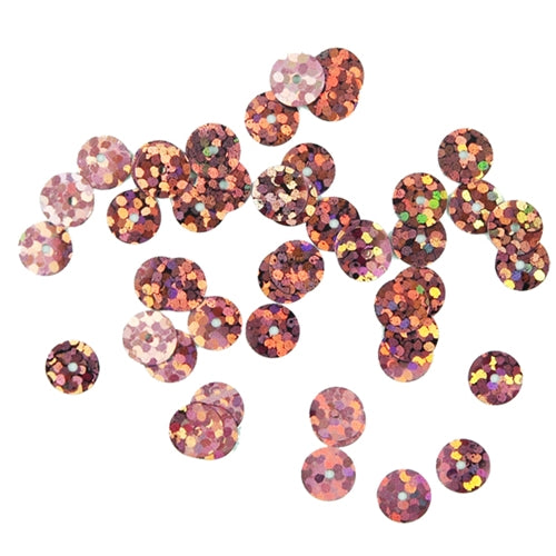 HotFix Loose Sequins - 6MM Rose Hologram - Threadart.com