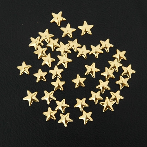Specialty Nailhead - Gold Star 5x5mm - 5 Gross - Threadart.com