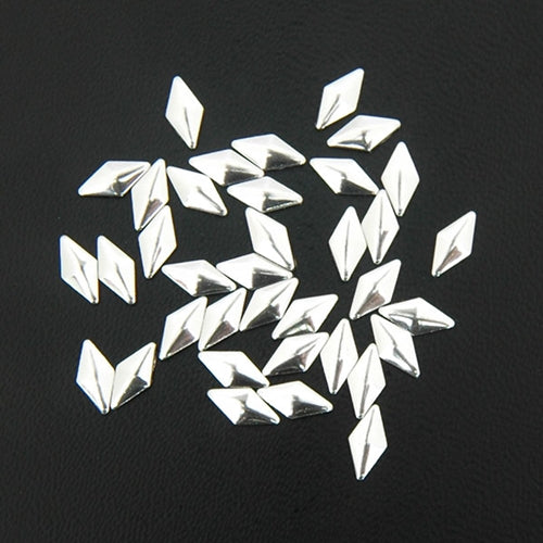 Specialty Nailhead - Silver Diamond 4x8mm - 2 Gross - Threadart.com
