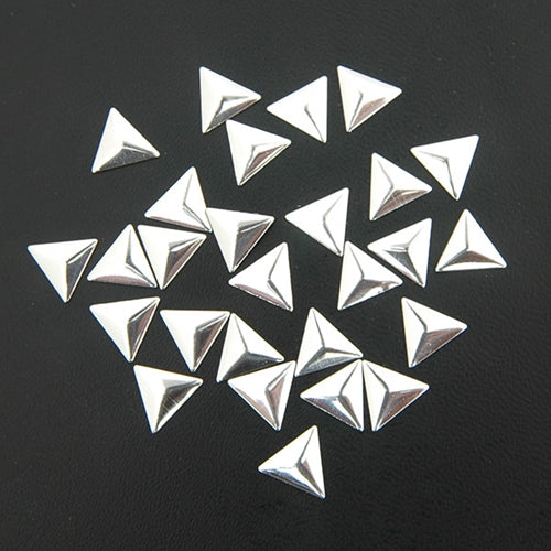 Specialty Nailhead - Silver Triangle 10x10mm - 1 Gross - Threadart.com