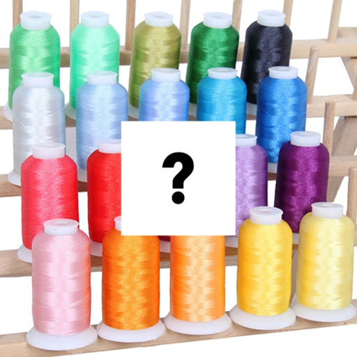 Grab Bag - 20 Cones Polyester Embroidery Thread - Threadart.com