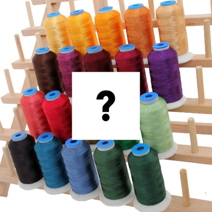 Grab Bag - 20 Cones Rayon Thread - Threadart.com