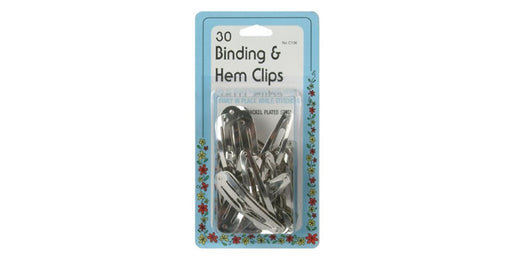 30 Binding & Hem Clips - Threadart.com