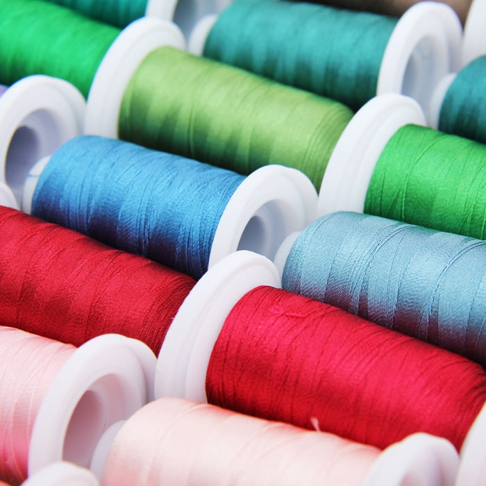 40 Cones of 500 Meters Polyester Machine Embroidery Thread - Vivid Set - Threadart.com