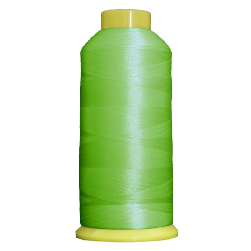Large Polyester Embroidery Thread No. 675 - Lime Green - 5000 M - Threadart.com