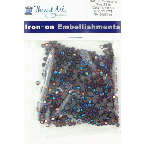Hot Fix Rhinestones-ss16-Saim AB - 720 stones - Threadart.com